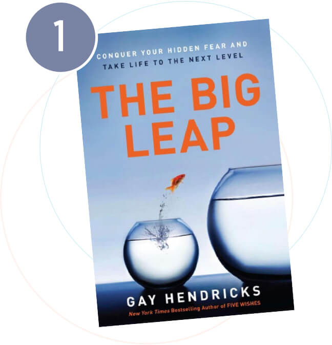 Op 1 in onze top 5 Inspirerende Boeken: The Big Leap van Gay Hendricks