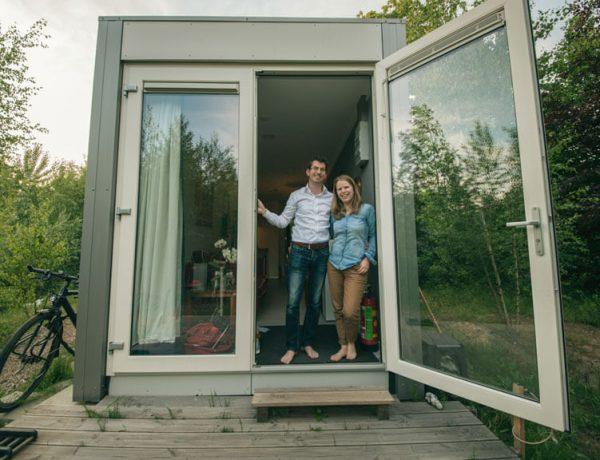Tiny House op Minitopia in Den Bosch - Remko Boer